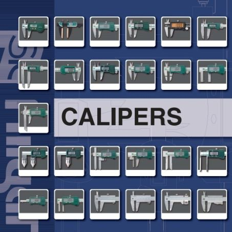 Digital Calipers w/ Thin Inside Jaw (DS-150R) 3