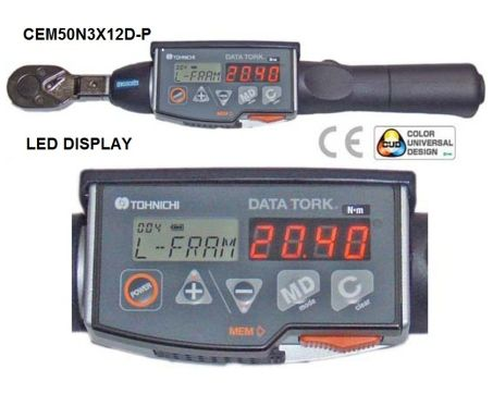 Digital Type Torque Wrench (CEM3-P) 1