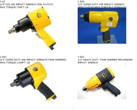"AIR IMPACT WRENCH (3/4"" HEAVY DUTY) 2"