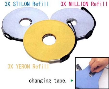 Nilon Coated Steel Refill Tapes 1